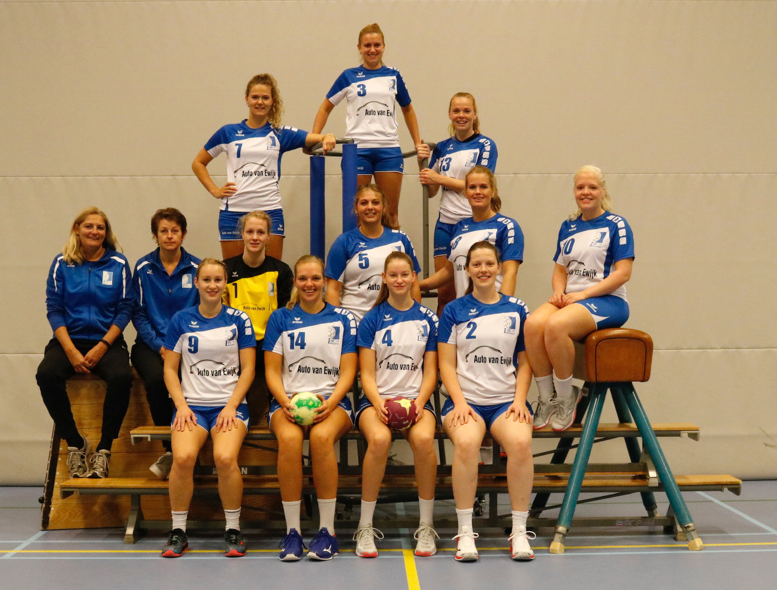 Dames 1 Handbalvereniging LHC